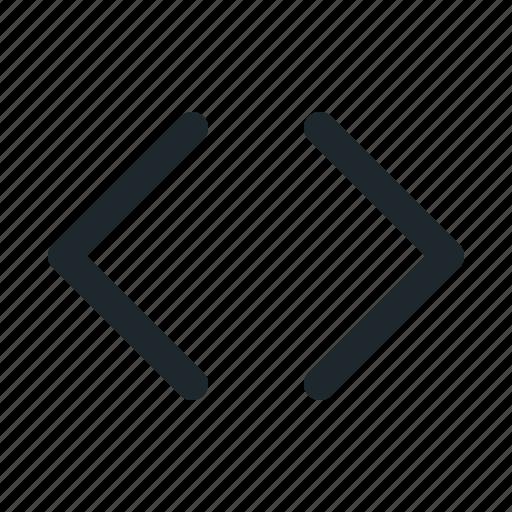 align, code, coding, text icon