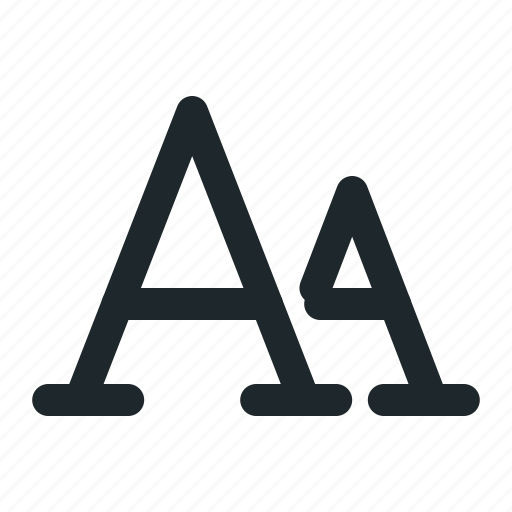 document, letter, style, text icon