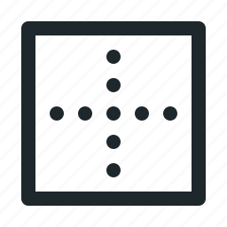 alignment, grid, table, text icon