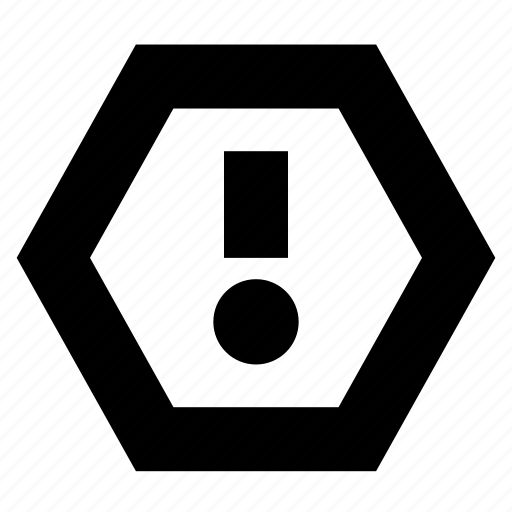 Alert, caution, warning icon - Download on Iconfinder