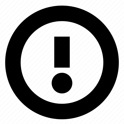 Alert, caution, info, warning icon - Download on Iconfinder