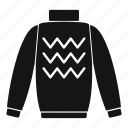 breast, clothing, fashion, mark, pants, pullover, slip icon