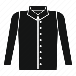 cloth, clothing, collar, guy, model, pocket, shirt icon