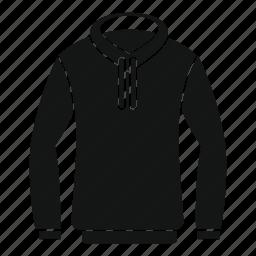 casual, clothes, fashion, hood, hoody, jacket, sweatshirt icon
