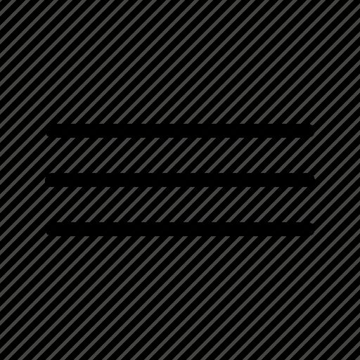 bullet, hamburger, line, list, menu icon