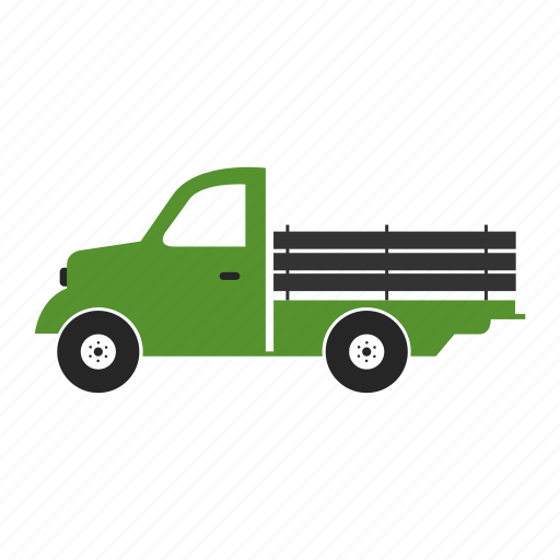 delivery, design, isolated, truck, white icon