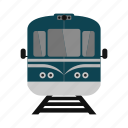 isolated, train, transportation, travel, white icon