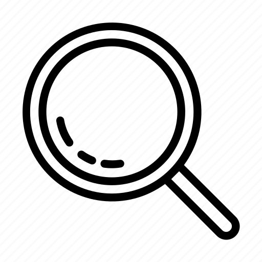 digital, magnify, magnifying glass, online, search, ui icon