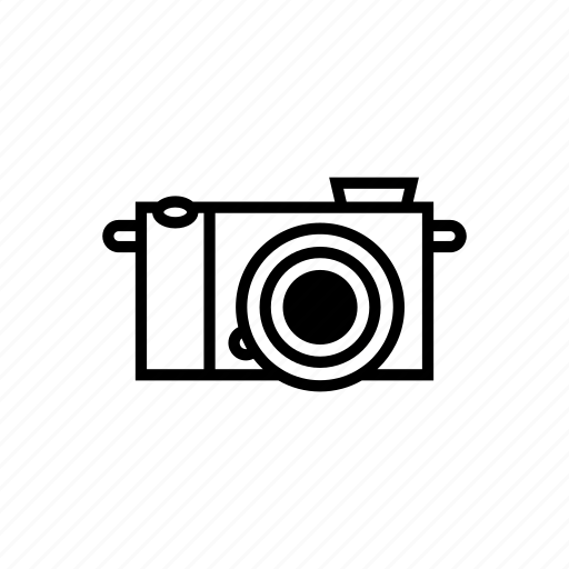 camera, digital, mirrorless, photo, photography, video, videography icon