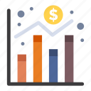 chart, digital, economy, graph