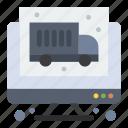 computer, economy, truck