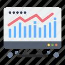 chart, computer, economy
