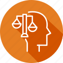 arbitration, business, copyright, digital, law, process icon