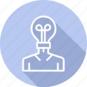 authorship, business, copyright, creative, digital, law icon