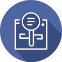 business, copyright, digital, law, records, search icon