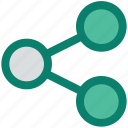 communication, connection, internet, link, network, networking icon