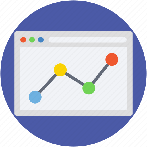 graph screen, web analytics, web ranking, web rating, webpage icon