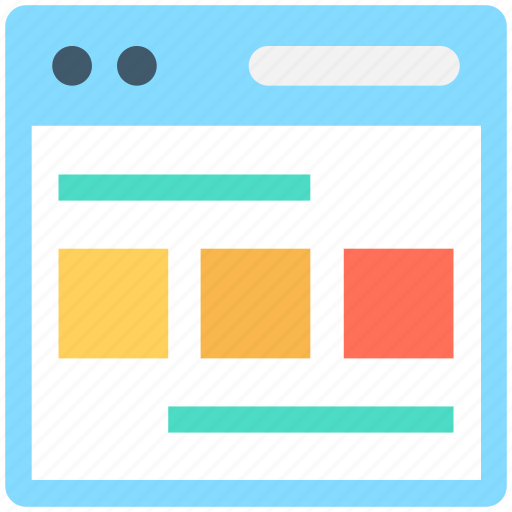 Layout, template, web design, web layout, web structure icon - Download on Iconfinder