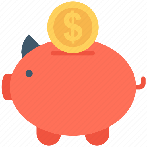 cash bank, cash box, money bank, money box, piggy bank icon