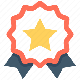 badge, insignia, premium badge, quality, star badge icon