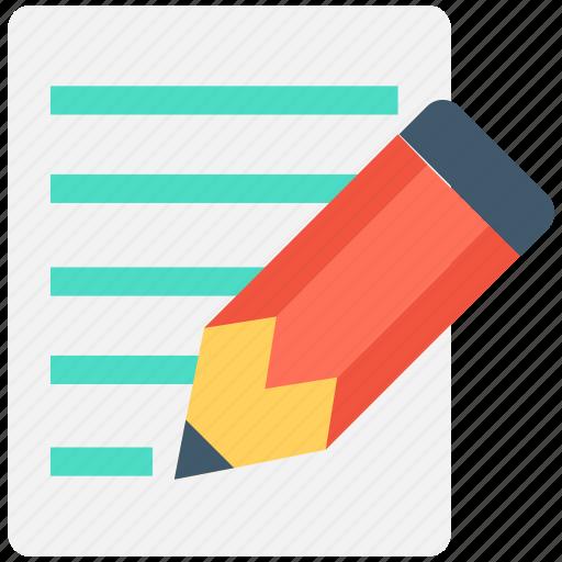 compose, edit, handwriting, pencil, writing icon