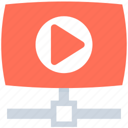 media, media player, multimedia, video player, video sharing icon