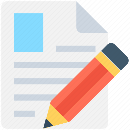 edit resume, resume, script writing, writing, writing article icon