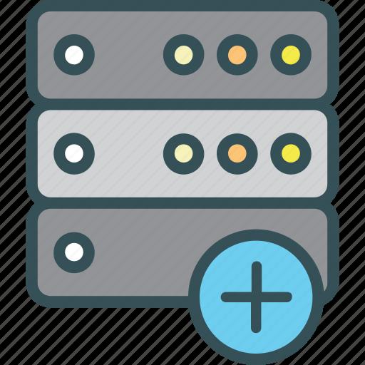 Files, rack, save, server, storage icon - Download on Iconfinder