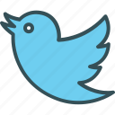 twitter sign, twitter, bird, animal, sign