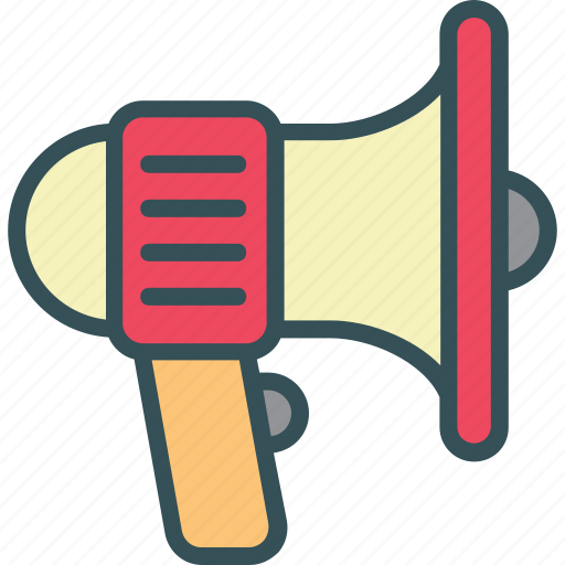 Advertising, bullhorn, loudspeaker, megaphone icon - Download on Iconfinder