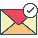 email, envelope, letter, mail, sent icon