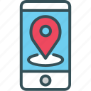 mobile, map, tracking, location, gps