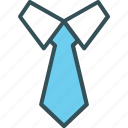 business, dress, professional, suit, tie icon