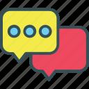 bubble, chat, comment, ellipsis, speech icon