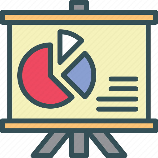 Analytics, board, presentation, reports, sales icon - Download on Iconfinder