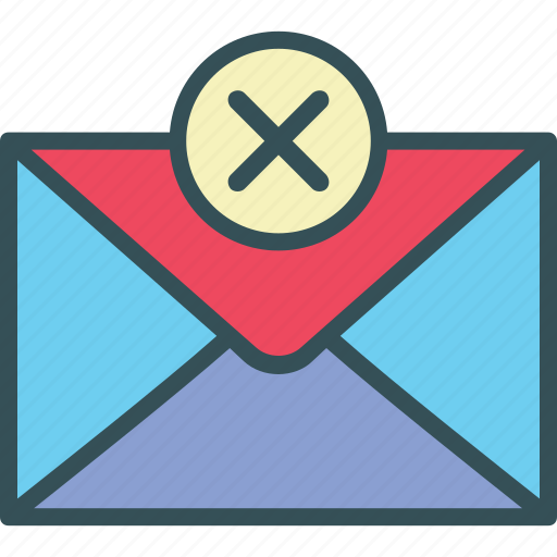 close, email, error, mail, not sent icon