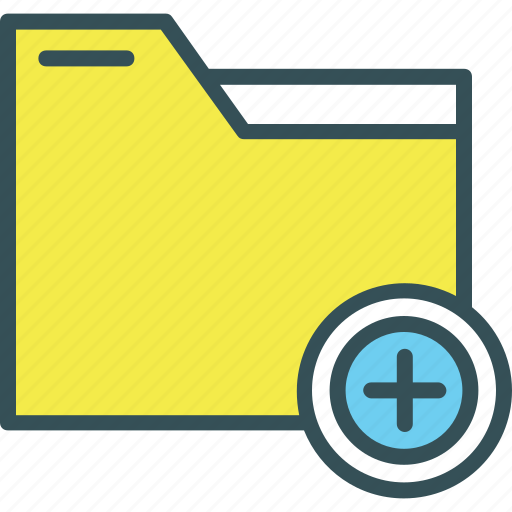Add, document, files, folder, storage icon - Download on Iconfinder