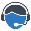 face, headset, services, support, user icon