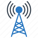 antenna, signal, tower, wifi, wireless icon