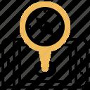 compass, gps, navigation, retargeting, smartphone icon