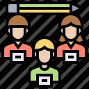 brainstorming, employee, human, team, teamwork icon