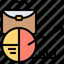 analysis, business, chart, data, marketing icon