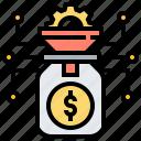 conversion, dollar, earning, money, saving