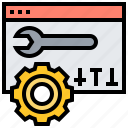 adjustment, setting, setup, web, website icon