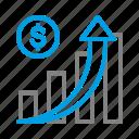 bussines, chart, digital, digital marketing, marketing, statistic, trading icon