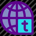 marketing, media, social, tw, web icon