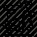 announcement, campaign, megaphone, target, user icon