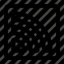 logo, logotype, rss, social, social media icon