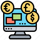 compensation, computer, methods, pricing, remuneration icon