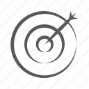 sales target, business target, goal, target market, bullseye, archery, aim icon